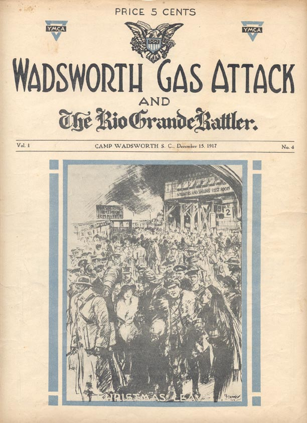 Issue 4, Gas Attack, 27th Division, AEF