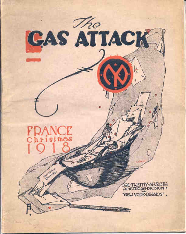 Christmas 1918, Gas Attack, 27th Division, AEF