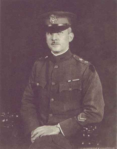 Major General John F. O'Ryan, commander of the 27th Division, A.E.F.