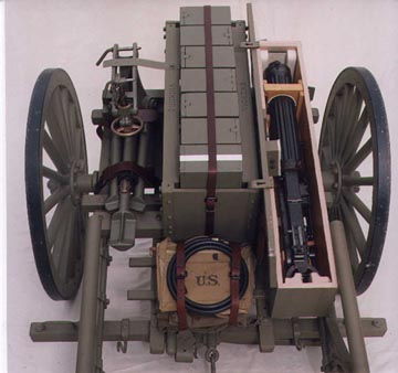 M1917 cart for transporting vickers gun